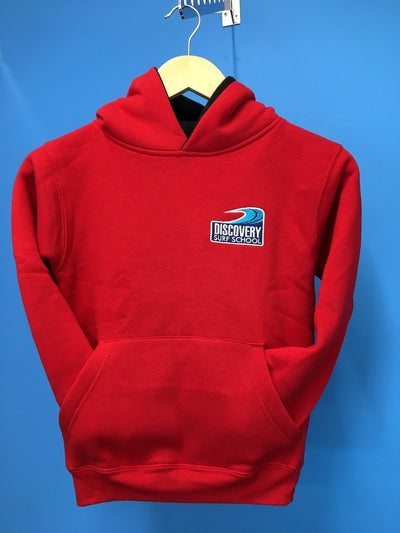 Discovery children's hoody - Red/Black