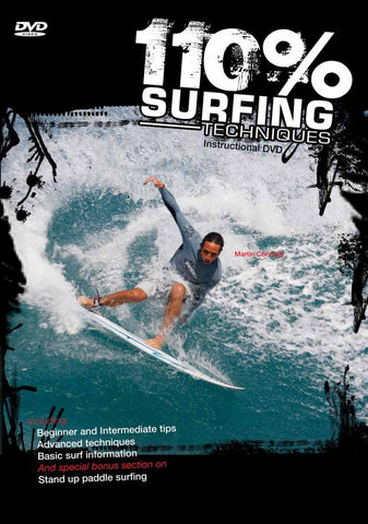 110% Surfing Techniques Volume 1 DVD