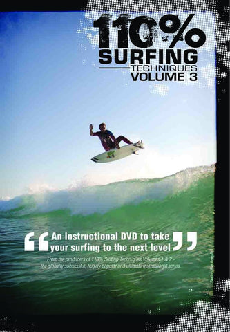 110% Surfing Techniques Volume 3 DVD