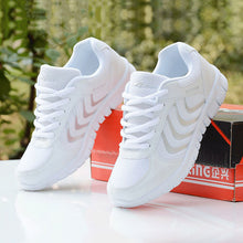 Load image into Gallery viewer, Breathable Fashion Women Sneakers Shoes Women Casual Shoes Laces