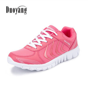 Breathable Fashion Women Sneakers Shoes Women Casual Shoes Laces
