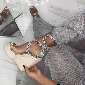 Gladiator Fashion Wedges