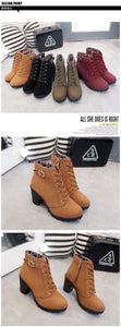 Winter Casual Women Ankle Boots