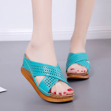 Load image into Gallery viewer, Women Slipper sandals Fashion Hollow Casual