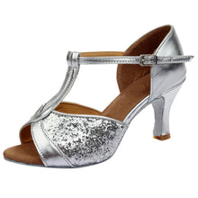 Load image into Gallery viewer, 2020 Women Latin Dance Shoes Rumba Waltz Salsa Dance Shoes Sandals