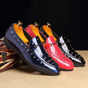 Patent Leather Formal Shoes