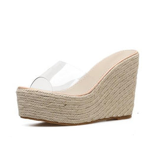 PVC Jelly Casual Sexy Wedges