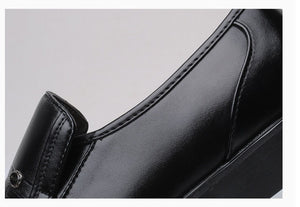 Luxury Leather Formal Business Shoes