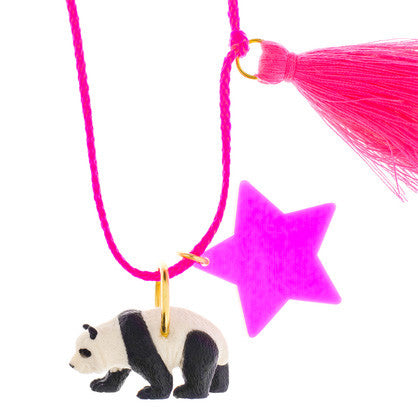 pearl the panda necklace // little lux