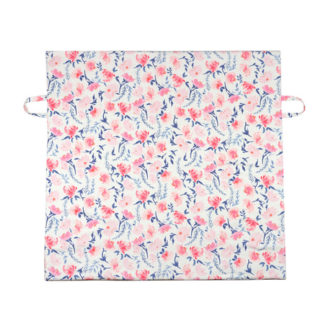 Canvas Play Mat // Watercolor Floral
