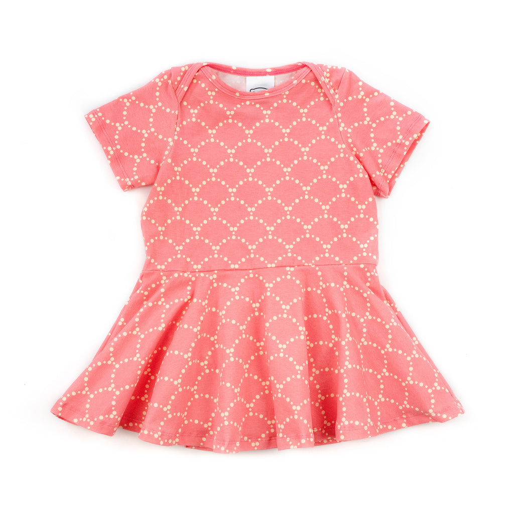 jane baby dress // rose banner