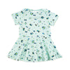 jane baby dress // blue flower