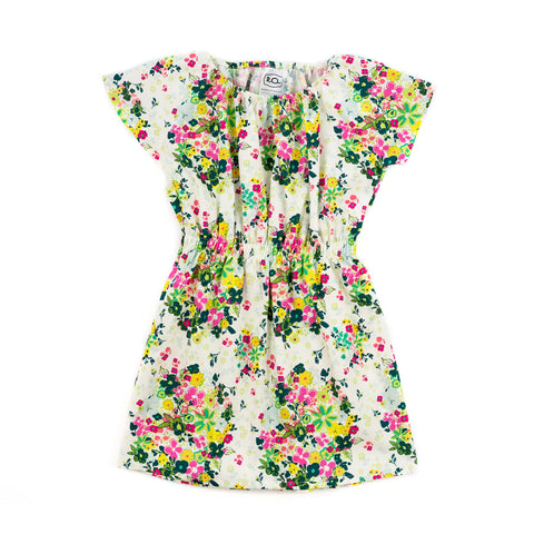 LESLEY DRESS // mini flowers