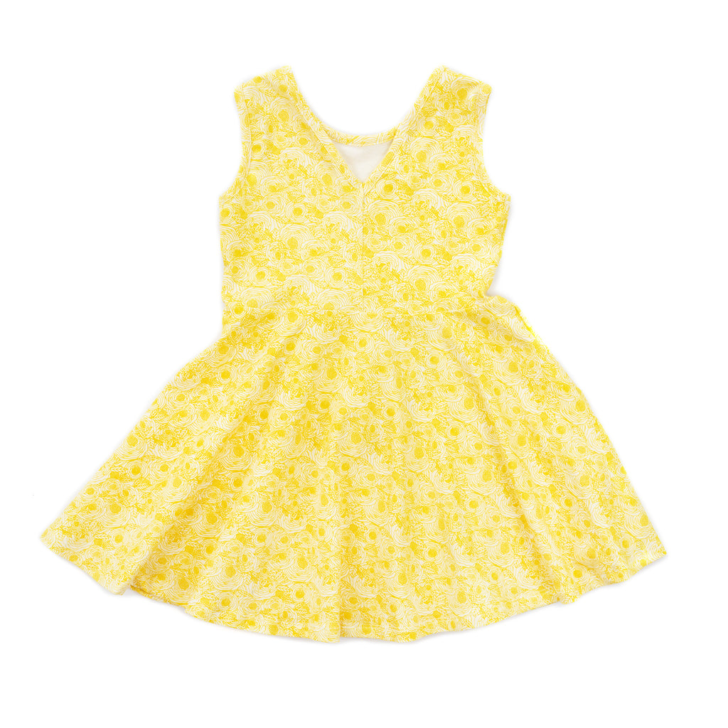 elizabeth dress // yellow floral