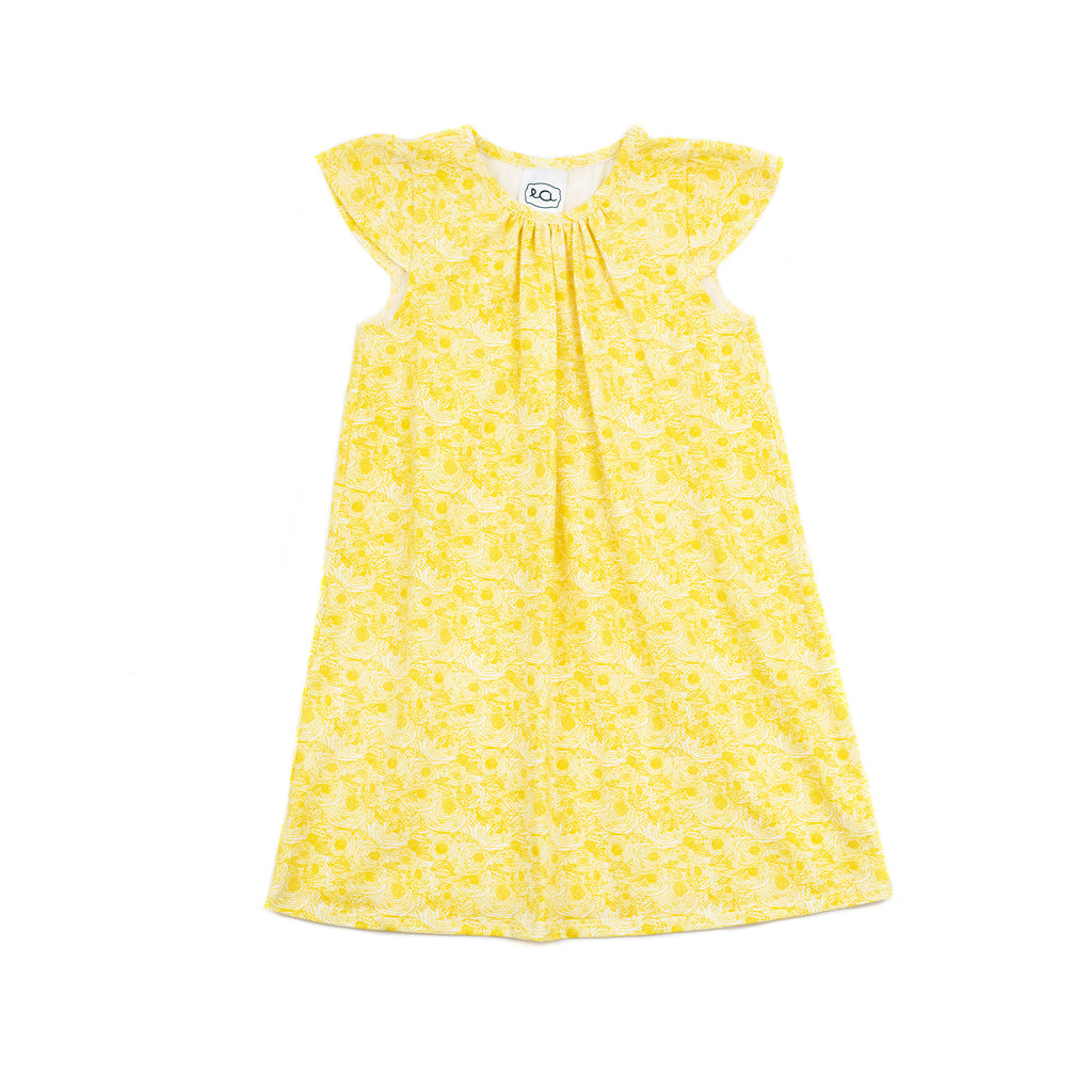 kate knit every day dress // yellow floral