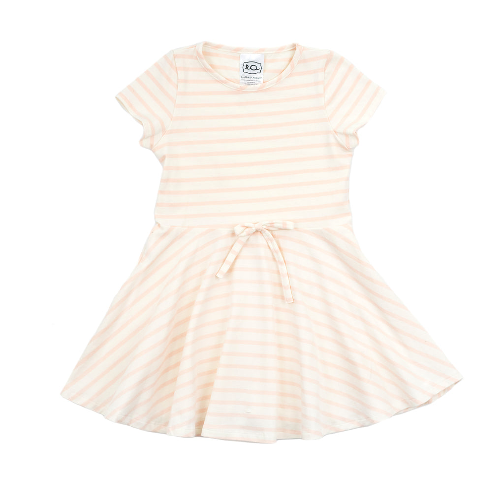 frances dress // pink stripe