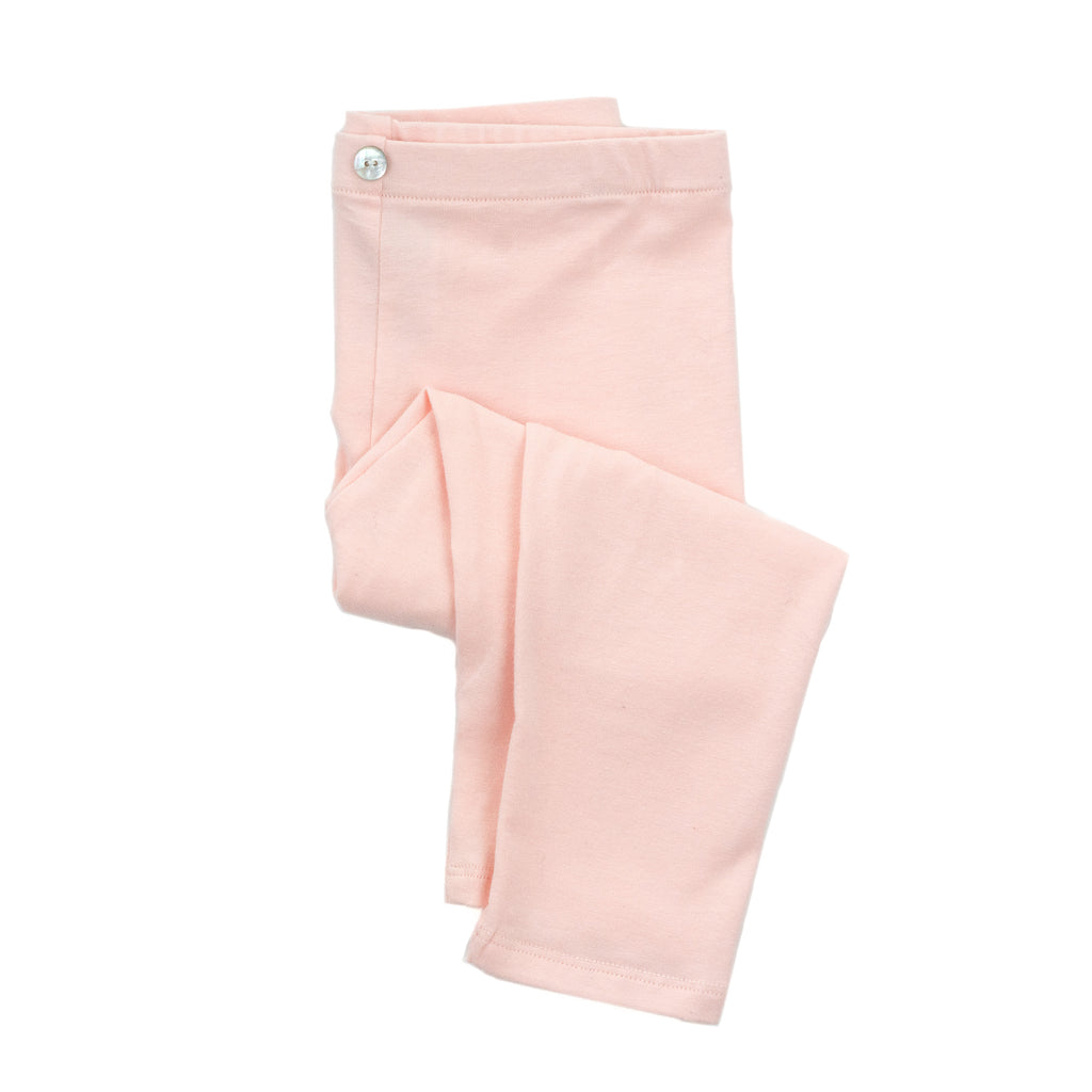 LULU CROPPED legging // rose solid