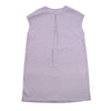 laura women's tunic dress // lilac linen