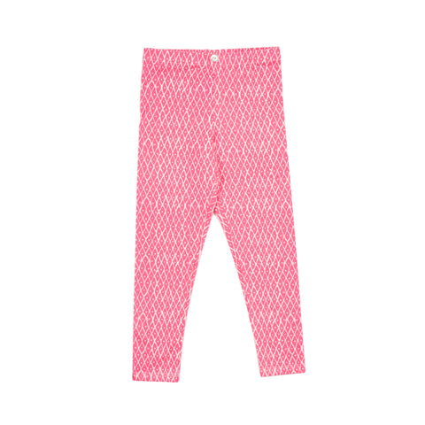 lulu full length legging // pink triangles