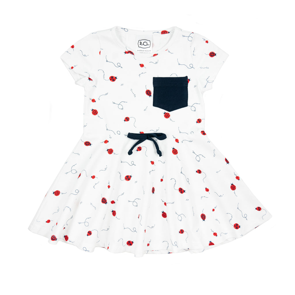 frances dress // ladybug