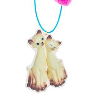 i am siamese necklace // little lux