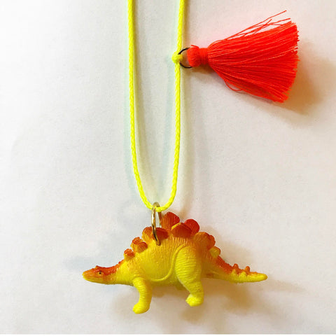 david the dino necklace // little lux