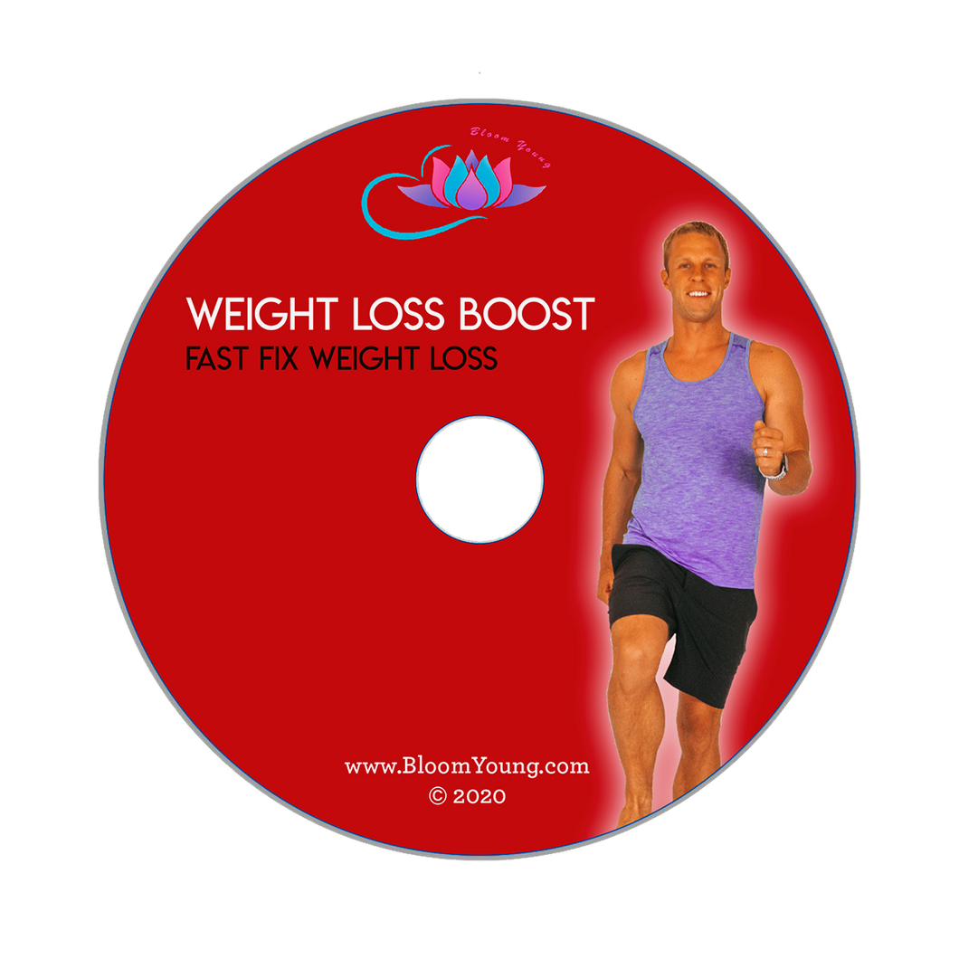 Weight Loss Boost DVD -  Bloom Young Exercise DVD For Beginners