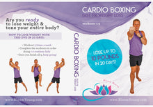 Load image into Gallery viewer, Cardio Boxing DVD (20 Day Fast Fix Weight Loss) - Exercise DVD For Beginners