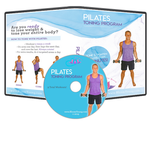 Pilates Toning Program DVD - Exercise DVD For Beginners