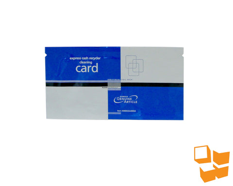 DIEBOLD® Express Cash Recycler Cleaning Card