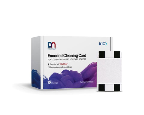 DIEBOLD NIXDORF® ATM Encoded Card & Chip Reader Cleaning Cards