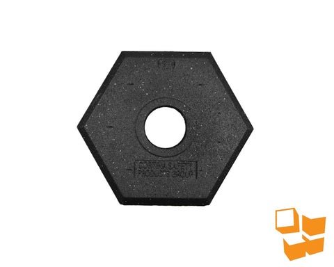 Delineator Rubber Base, 15 lb.
