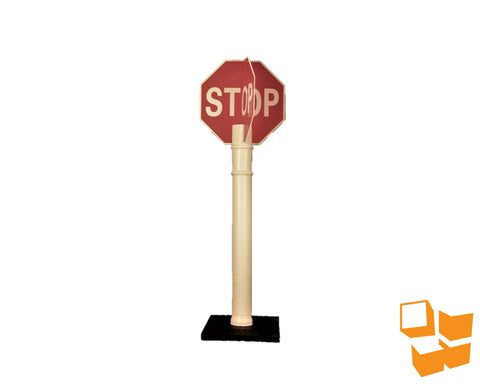 Quick Deploy Stop Sign