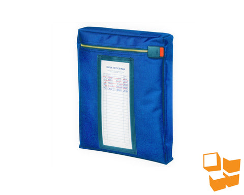 "Keyless Security™ Expandable Inter-Office Mailer 16"" x 13"" x 2"" – Blue"