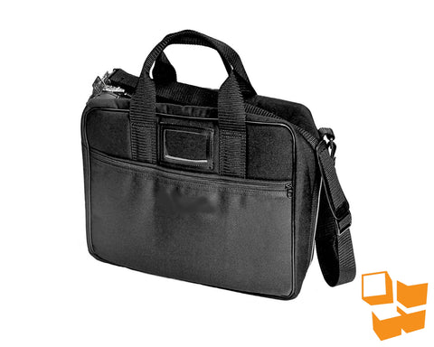"Locking Executive Attaché - 13"" x 18"" x 6"" - Black"