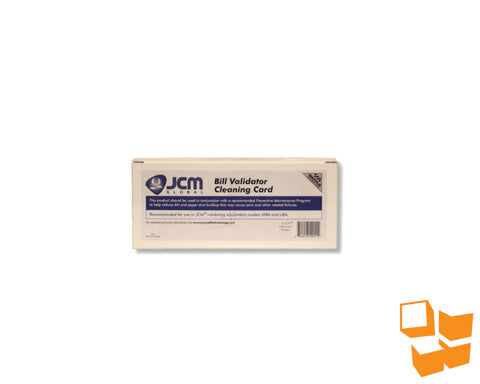 Waffletechnology™ JCM Bill Validator Cleaning Card