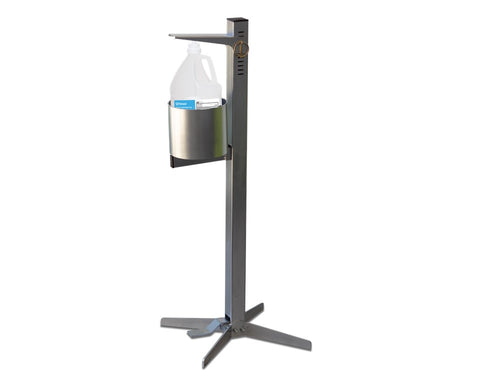 Industrial Pedal Activated Sanitizer Dispenser