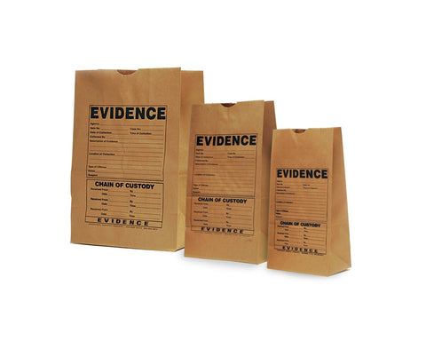 EVIDENCE keeperbag™  Paper Evidence Bags