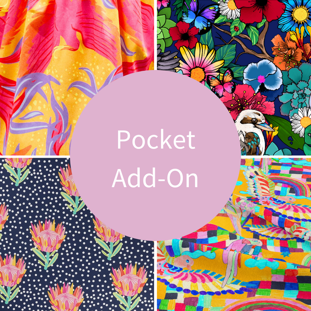 Pocket add on for dress with pockets