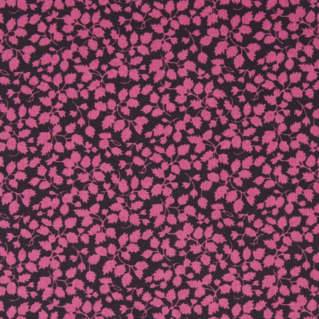 Back to the Fuschia Fabric design by liberty of london