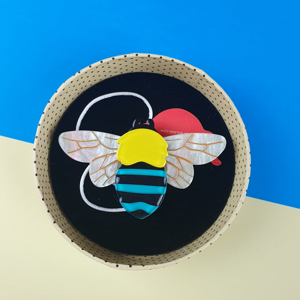 To bee or not to bee erstwilder brooch