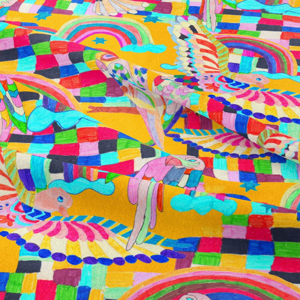 Paradise Found fabric design by Ellie Whittaker