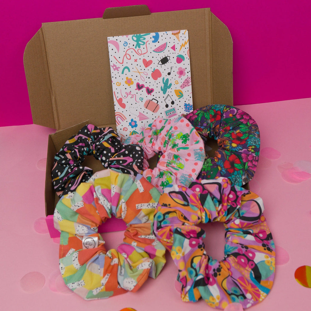 Scrunchie lovers gift box