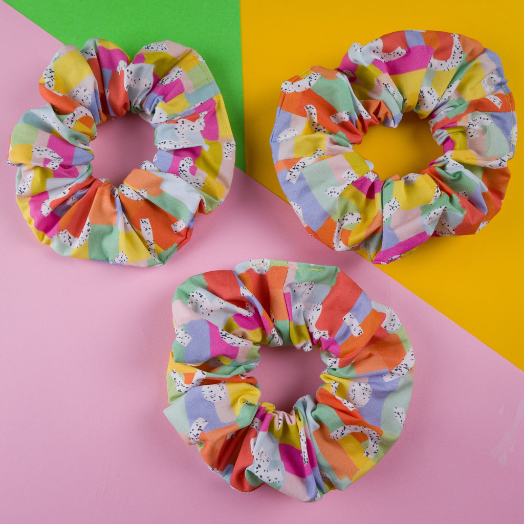 Scrunchies made in Australia for the perfect messy bun