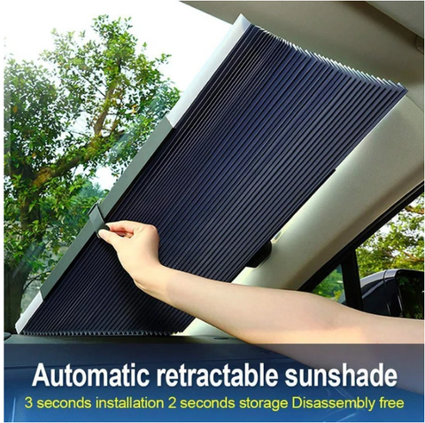 Car Retractable Windshield Visor