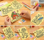 (50PCS Free Shipping) Children's Sand Art Painting