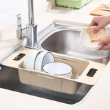 Fruit Blue Retractable Adjustment Sink