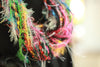 Multi Color Fiber Necklace