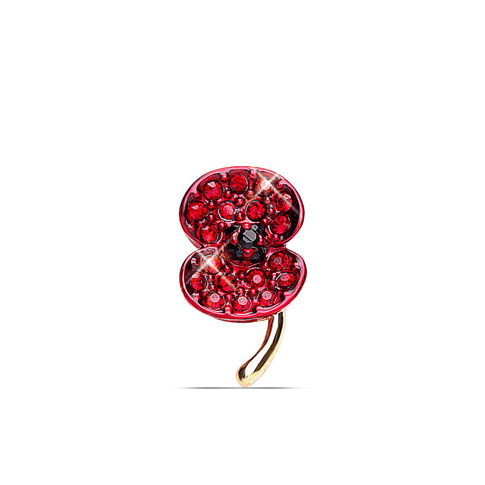 The Poppy Collection ® Crystal Lapel Pin