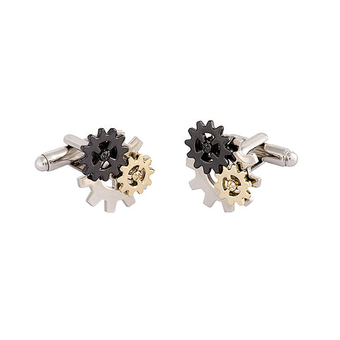 Moving Cogs Cufflinks